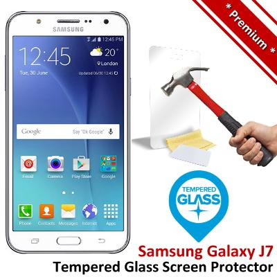 Premium Quality Samsung Galaxy J7 Tempered Glass Screen Protector