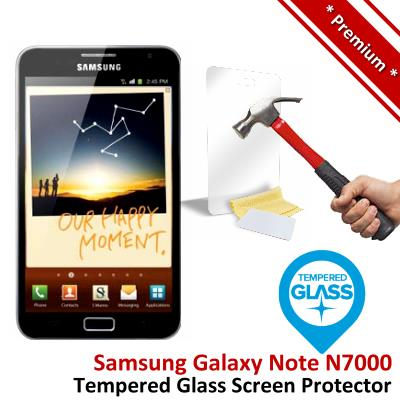 Premium Quality Samsung Galaxy Note 1 Tempered Glass Screen Protector
