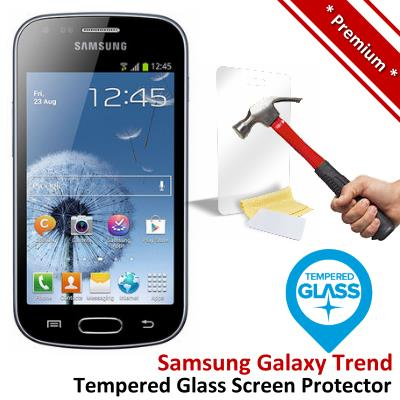 Premium Quality Samsung Galaxy Trend Tempered Glass Screen Protector