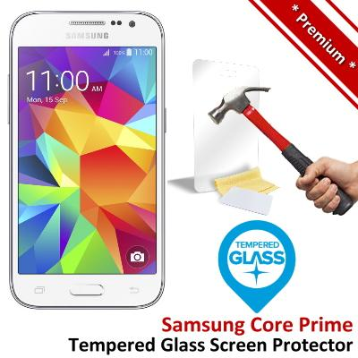 Premium Samsung Galaxy Core Prime Tempered Glass Screen Protector