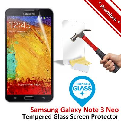 Premium Samsung Galaxy Note 3 Neo Tempered Glass Screen Protector