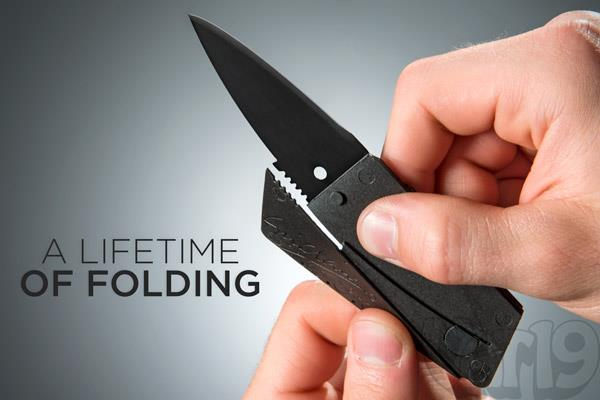 Premium Sinclair Credit Card Sized Folding Safety Knife