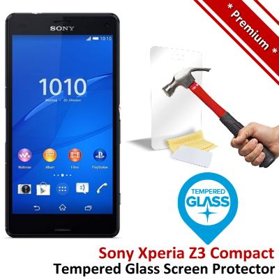Premium Sony Xperia Z3 Compact Tempered Glass Screen Protector