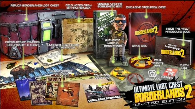 PREORDER :: PS3 BORDERLANDS 2 ULTIMATE LOOT EDITION [R3] :: ETA 18/9/2