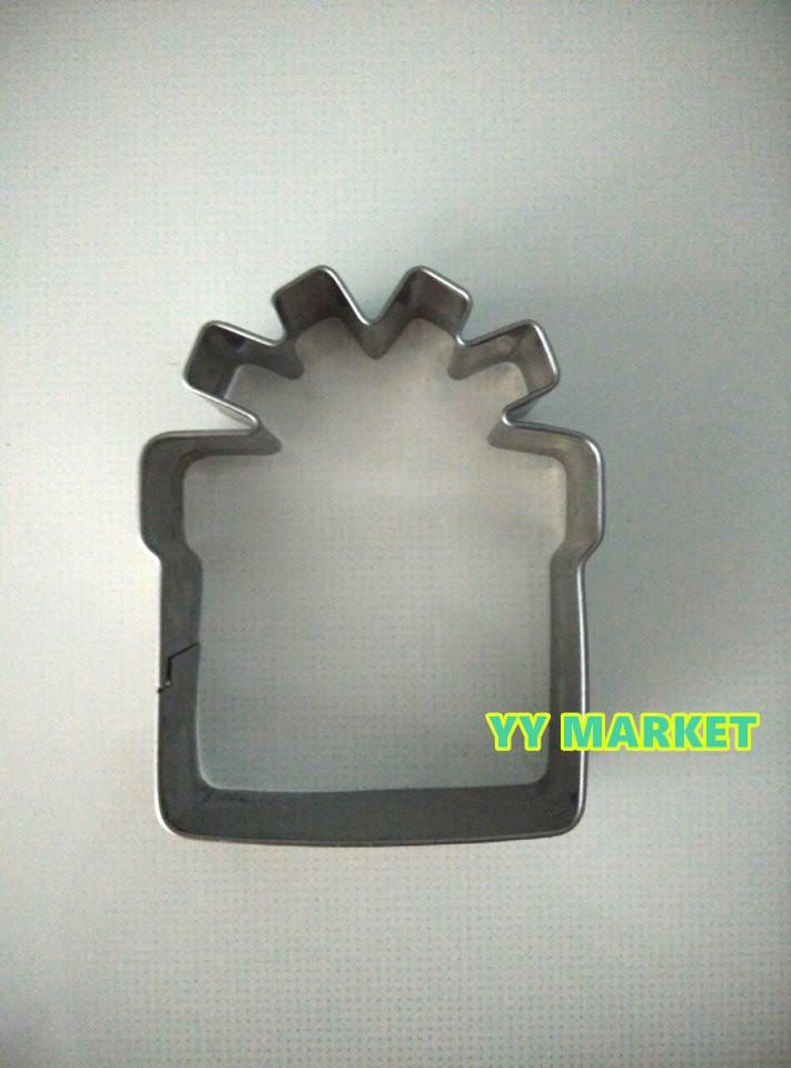 Present Shape Cookies Cutter Cookies Mould