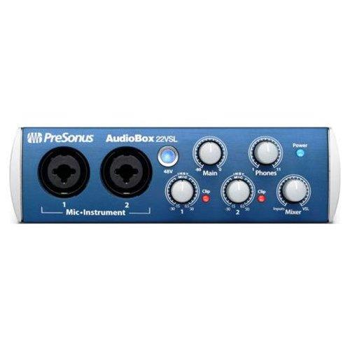 PreSonus Recording System AudioBox 22VSL
