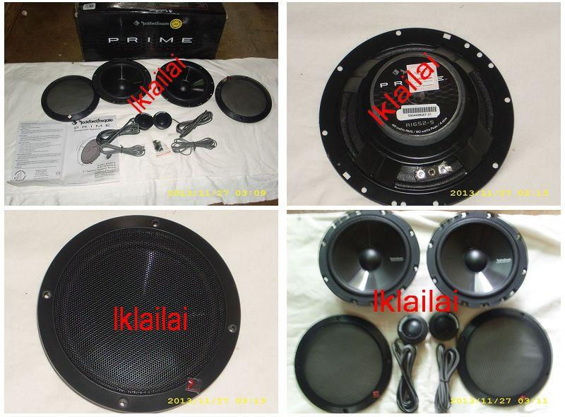 PRIME 6.5 inch Component 2-Way Speaker Set