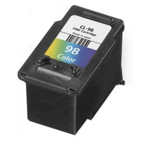 PRINTXTRA REMANUFACTURED Canon CL-98 CL98 E500 510 Color Ink Cartridge
