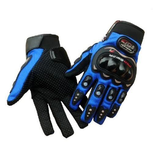 Pro Bikers Carbon Fiber Motorcycle Glove Full Finger Bicycle Glove