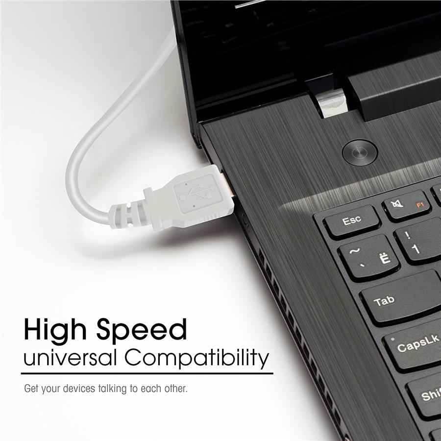 Pro Series Hi-Speed USB 2.0 Device Printer Scanner Cable