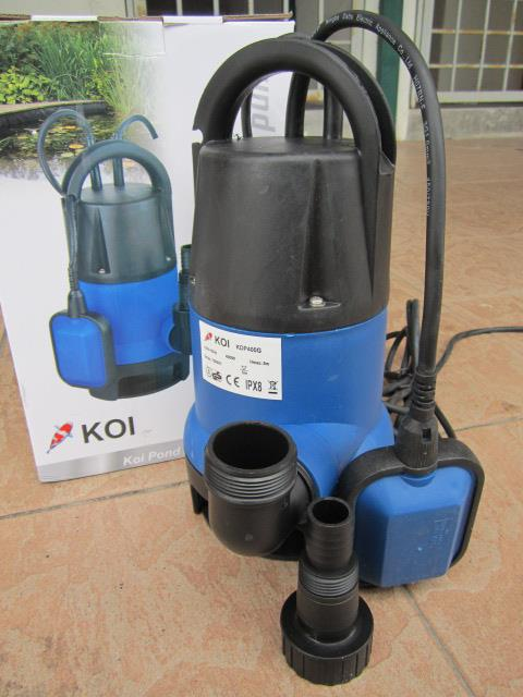 My professional 400w koi pond end 3 6 2018 4 15 pm myt for Koi pond pumps for sale