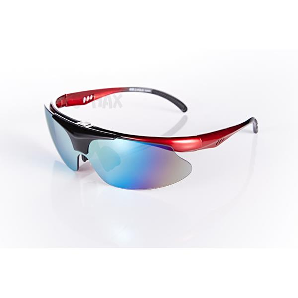 Professional Anti-UV Sporty Sunglasses with Liftable Lens