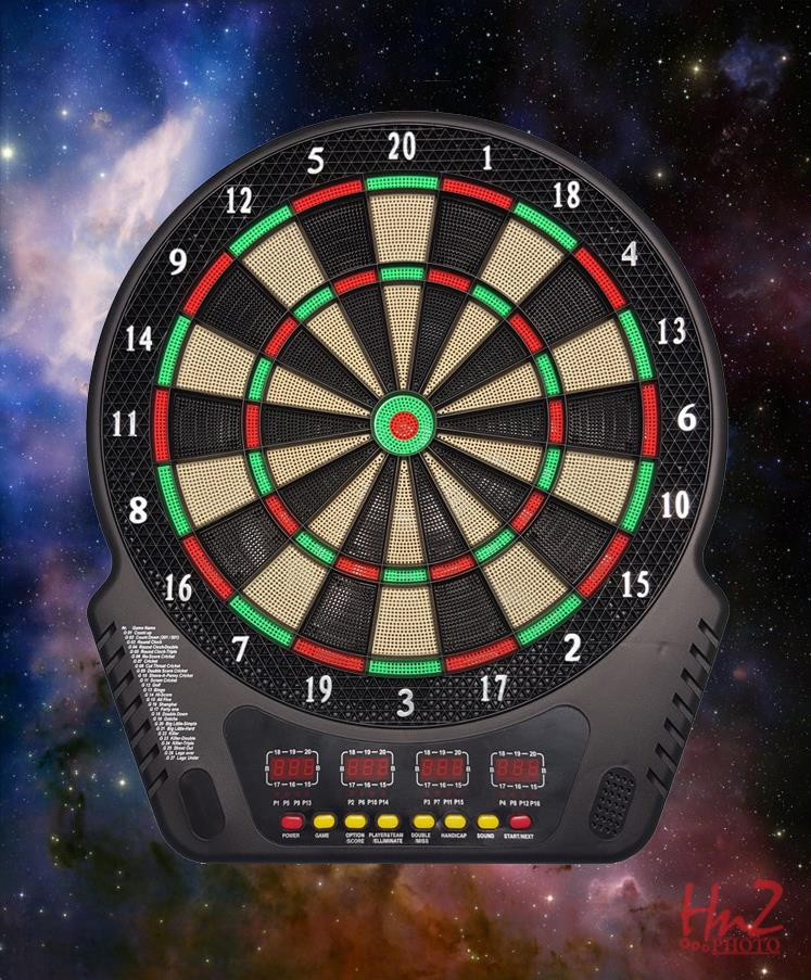 Professional Electronic Dart board ORIGINAL Clubbing UPGRADED LATEST