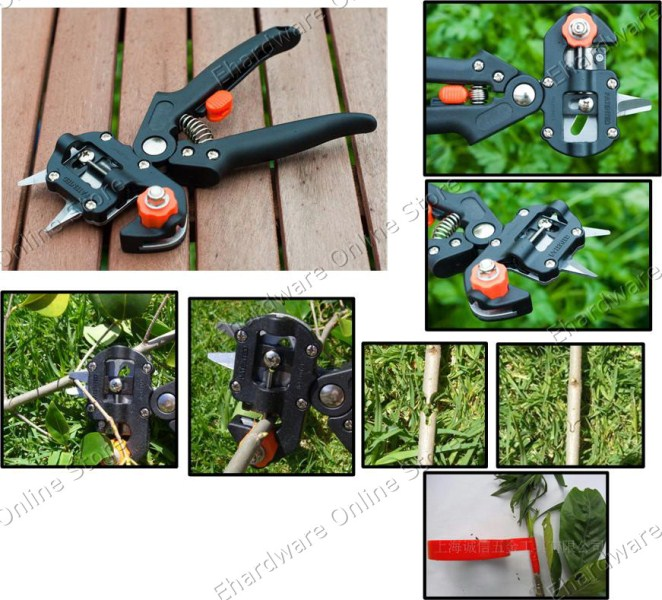 Professional garden omega grafting tools pliers 80gc005 for Professional gardening tools