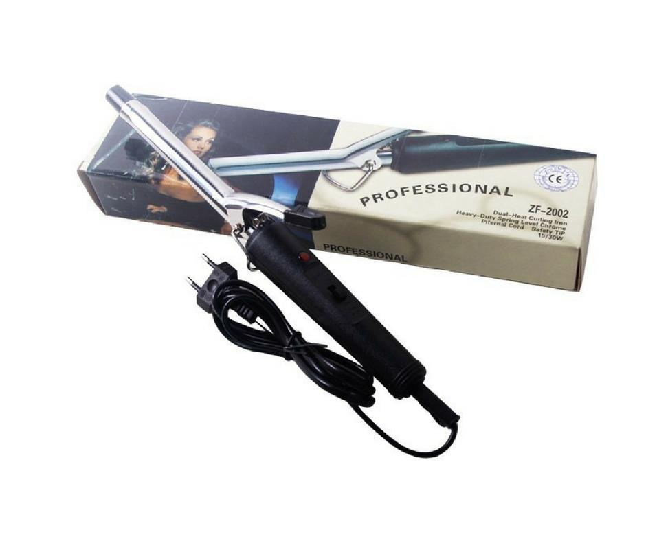 Professional Instant Dual-Heat Hair Curler/Curling Iron ZF-2002