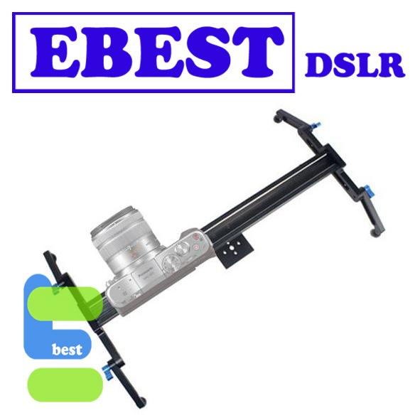 Professional Roller Bearing Slider DSLR Movie Video Camera Rail Track