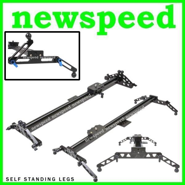Professional Strong 80cm Video Camcorder DSLR Camera Slider Rail +Bag