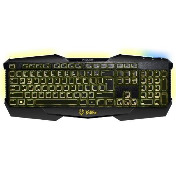PROLiNK PKGM9101 VELIFER Illuminated Multimedia Gaming Keyboard