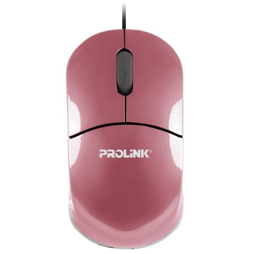 PROLINK® USB Optical Mouse (PINK) - PMC1001