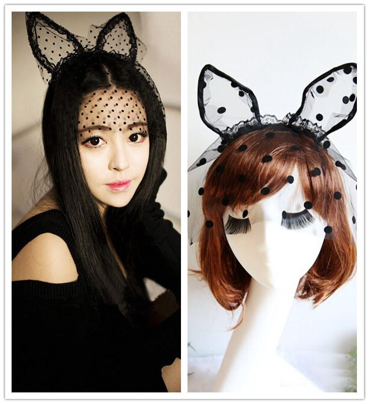 Prom Cat Ear Lace Veil (Two Types)