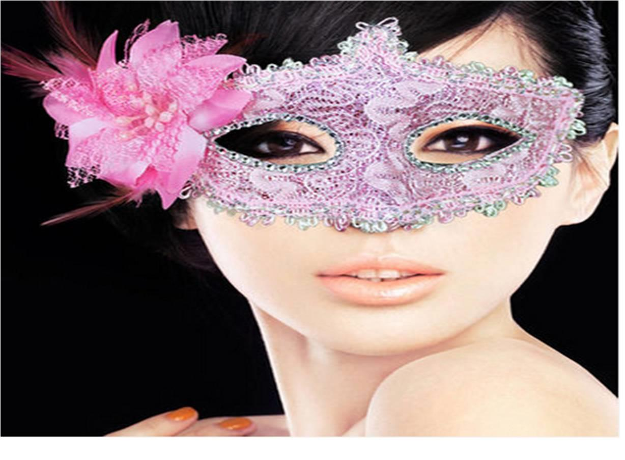 Prom Night Mask flower F1