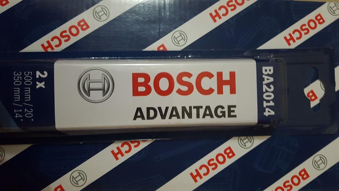 [PROMO] BOSCH ADVANTAGE WIPER (1PAIR) for VIOS, KEMBARA (20'/14')