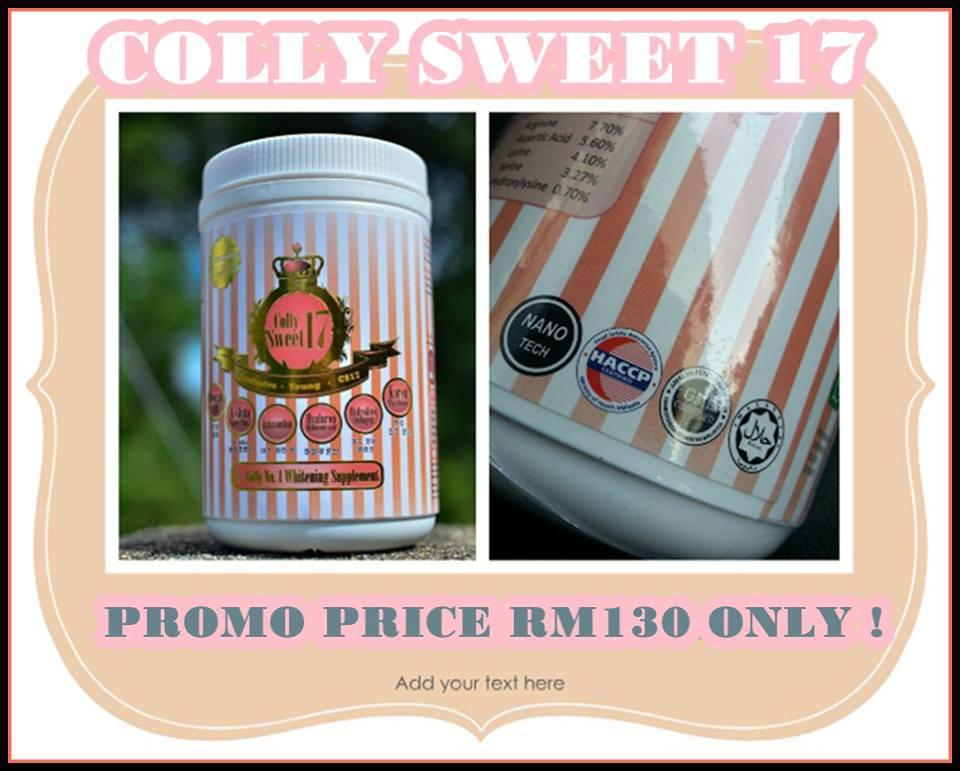 **PROMO**K-COLLY SWEET 17 1 Million MG - UNTIL 1st JULY ONLY!!!