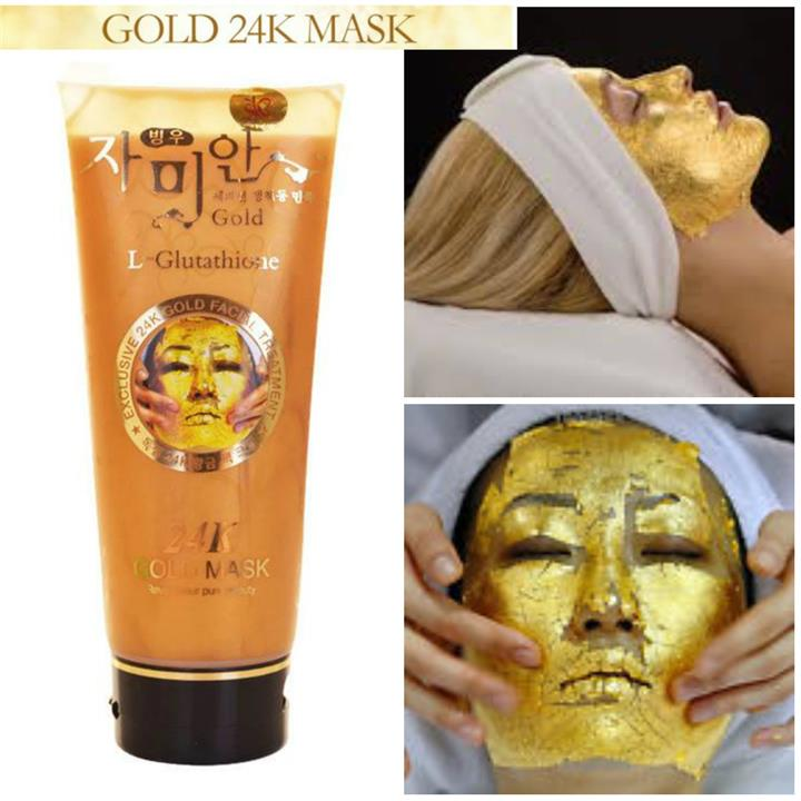 Promo Korea 24k Gold Mask L-Glutathione (220ml)