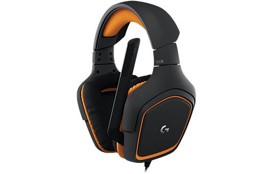 PROMO!! Logitech G231 Prodigy Gaming Headset / Headphone w Mic