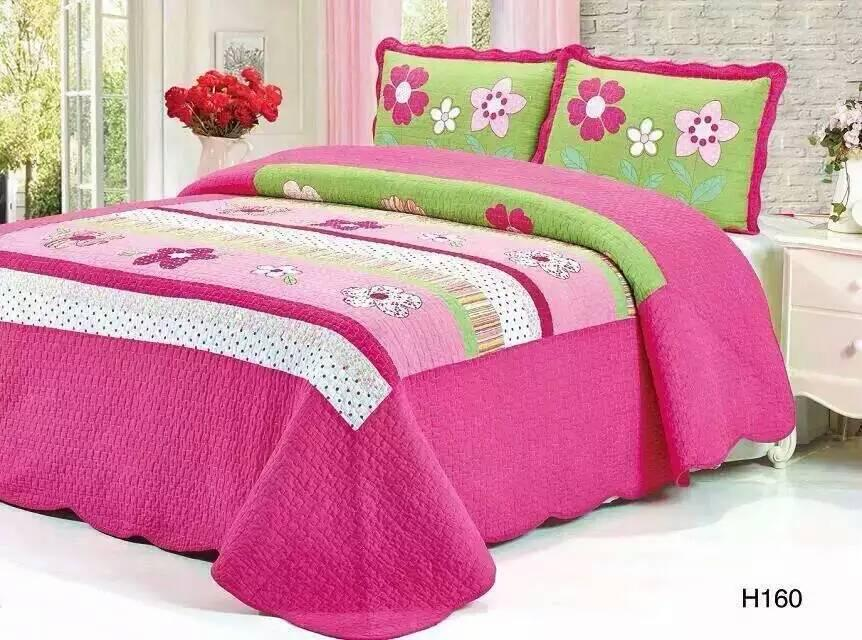 (Promo Price) Cadar PatchWork 100% Cotton Queen/King