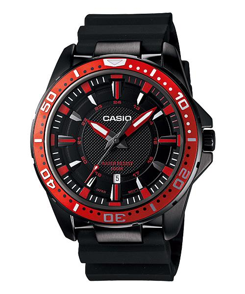 PROMO Sales CASIO   ANALOG DIVER LOOK SERIES MTD-1072-4A