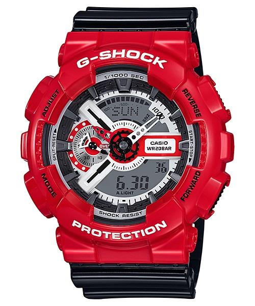 PROMO Sales G-Shock GA-110RD-4A Black And Red