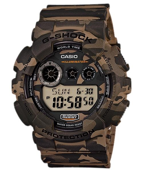 PROMO Sales G Shock GD-120CM-5 CAMOUFLAGE SERIES