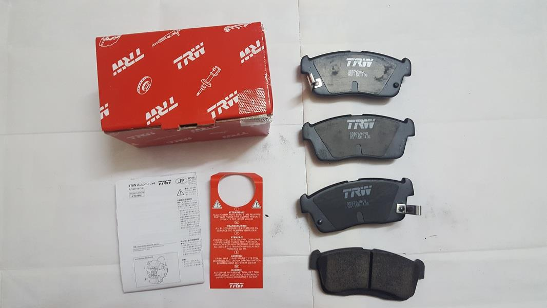 [PROMO] TRW FRONT BRAKE PAD for PERODUA MYVI 1.0 1.3 (2006-2011)