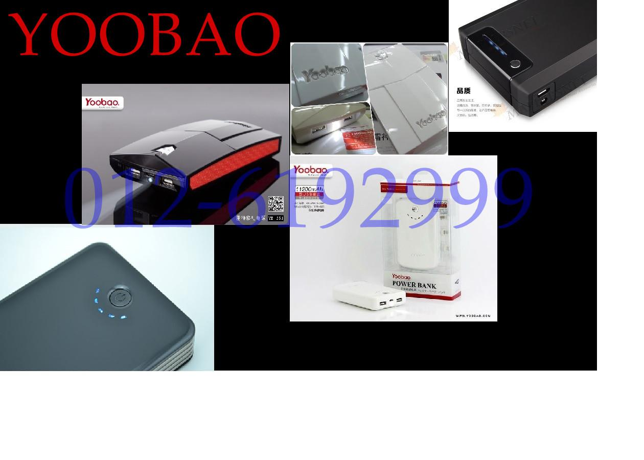 PROMOSI HEBAT!! YOOBAO POWER BANK 15600mah/ 13000mah/ 11200mah/ 30000