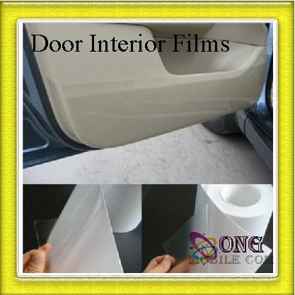 promotion 4 pcs 1 set car door interior protection film interior accessories. Black Bedroom Furniture Sets. Home Design Ideas