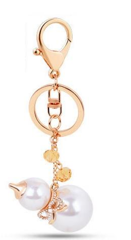 Promotion! CNY: Cuty gourd aloy Key chain Bag chain