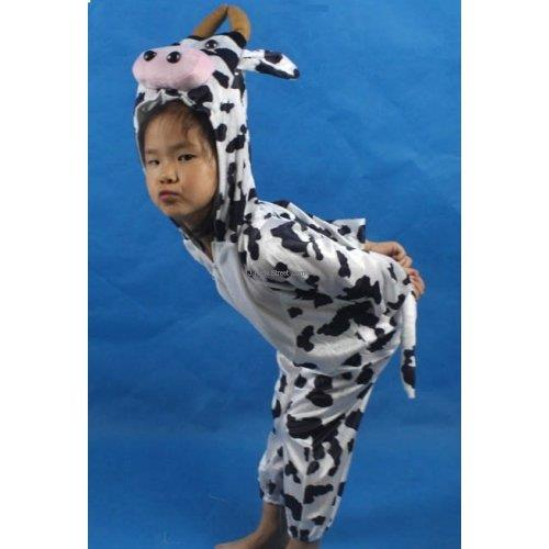 Promotion - Cow Cosplay Kids Animal Outfit Costume Size L