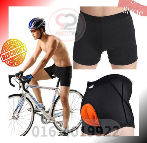 PROMOTION ! Cycling 3D GEL Padded Bike Bicycle Riding Pad Shorts Pants