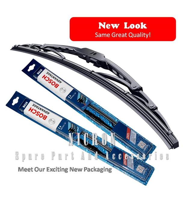 (Promotion) Honda City 03-15 (Size:14+24) Genuine Bosch Wiper Blades