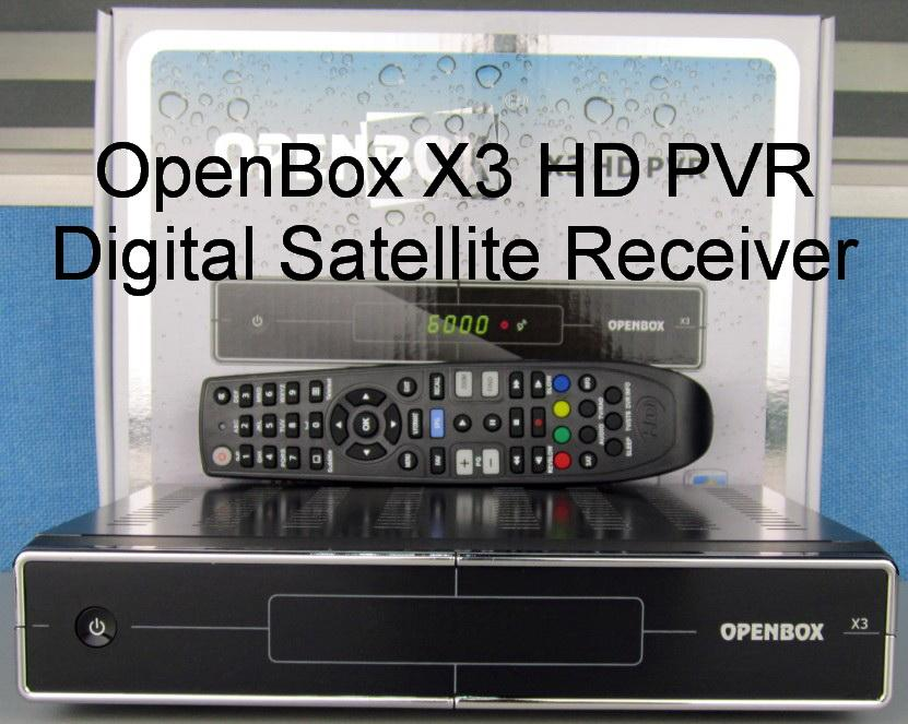 PROMOTION OpenBox S10 / X3 HD PVR Satellite Receiver + 12 Months CCCam