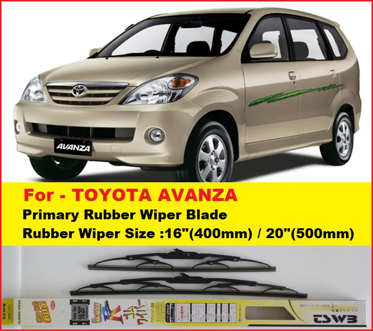promotion toyota avanza wipers nwb16 2 end 3 29 2017 12 15 00 am. Black Bedroom Furniture Sets. Home Design Ideas
