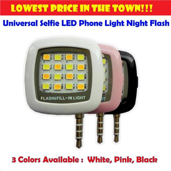 [Promotion] Universal Selfie LED Enhancing Phone Light Night Flash