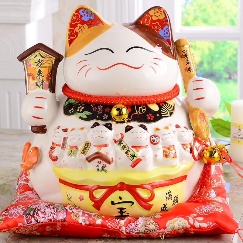 PROSPERITY LUCKY FORTUNE CAT 14�(八方来财)
