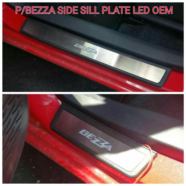 PROTON BEZZA Stainless Steel LED Door Side Sill Step Plate