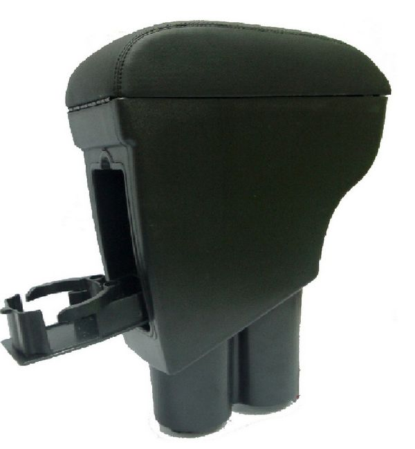 PROTON EXORA Genuine Black Leather Arm Rest with Cup Holder