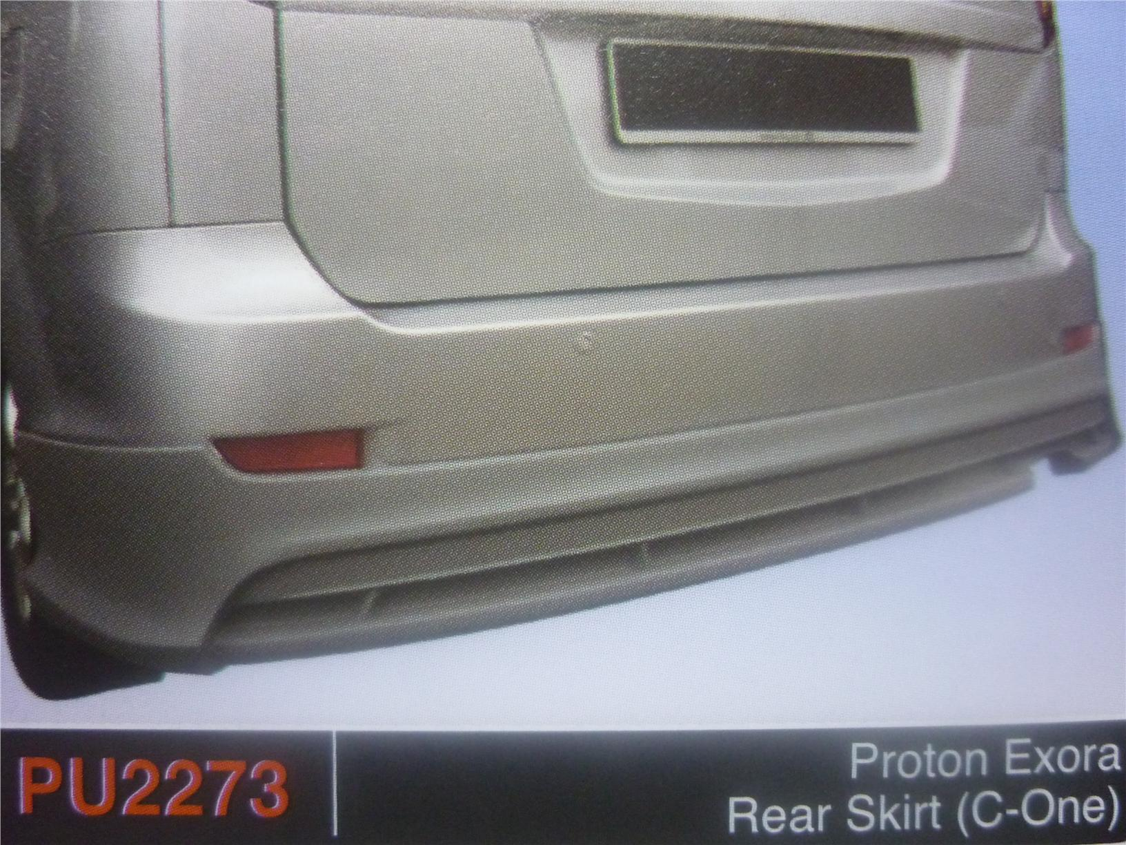PROTON EXORA REAR SKIRT C ONE PU2273