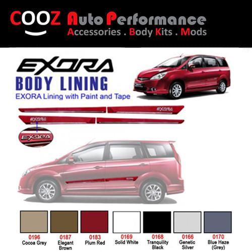 Proton Exora Side Door Moulding / Body Lining