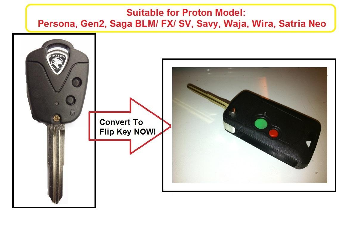 Proton Flip Key Conversion c/w Blank Key