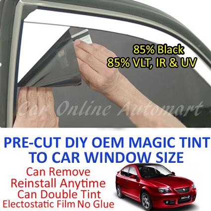 Proton Gen 2 Magic Tinted Solar Window ( 4 Windows ) 85% Black
